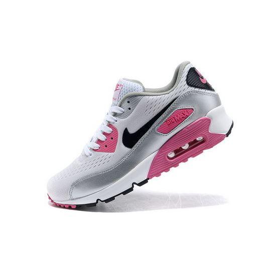 super popular 95075 b0bca Nike Air Max 90 Em Mens Engineered Mesh Pink Silver Norway