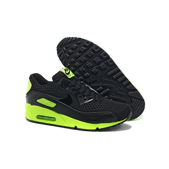 sports shoes 05920 0794f Nike Air Max 90 Premium Em Men Black Green Running Shoes Outlet Store