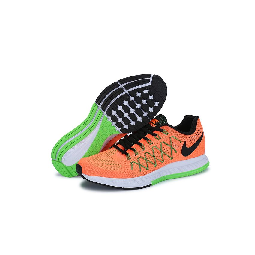 release date: 93416 87c04 Men's Nike Air Zoom Pegasus 32 Running Shoes Orange/Green ...