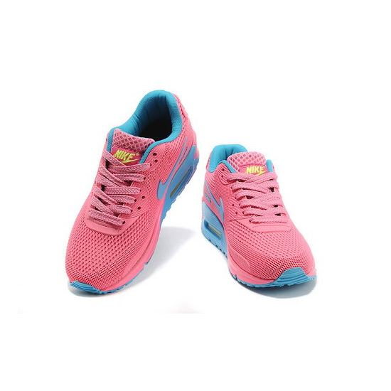 finest selection 6bcbf 872d1 Nike Air Max 90 Em Womens Pink Blue For Sale