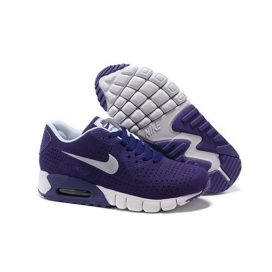 ad870ae6d4 Air Max 90 Current Moire Women Purple White Running Shoes Low Price ...