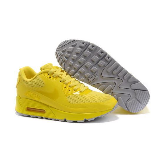 promo code e523e 093c1 Nike Air Max 90 Womens Grey Yellow Promo Code