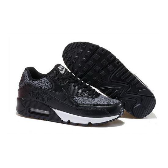 size 40 c76a9 0f4a6 Nike Air Max 90 Womens Shoes Hot Black White Denmark
