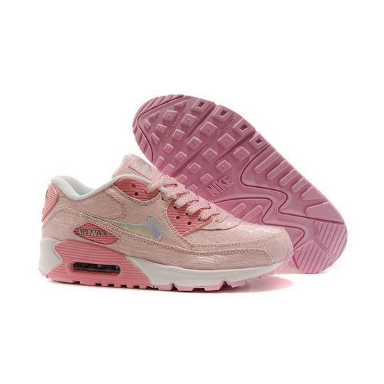 new products 17360 47bef Nike Air Max 90 Womens Shoes Light Baby Pink All Special ...