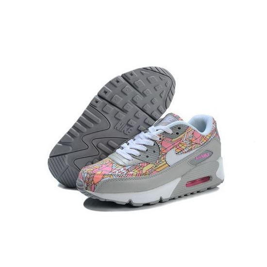 sports shoes 171cb 6a78d Nike Air Max 90 Womens Shoes New Grey Pink Online Coupon, Nike Air ...