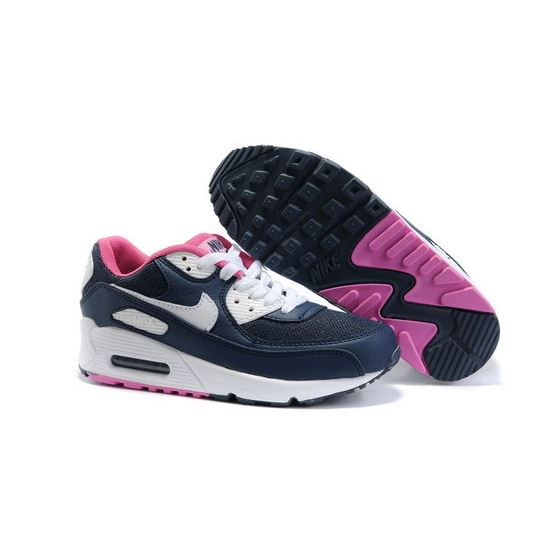 Nike Air Max 90 Womens Shoes Wholesale White Brown Pink