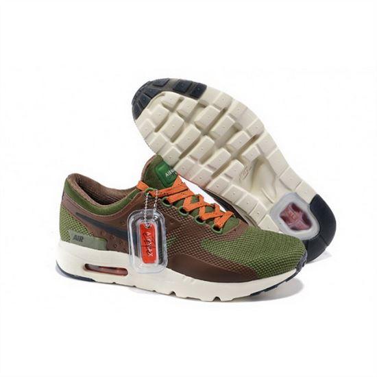 a0961beb0492 Mens Nike Air Max Zero Qs Green Brown Orange