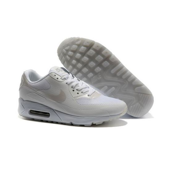 premium selection 609be bdc12 Nike Air Max 90 Hyp Frm Unisex All White Running Shoes Promo Code