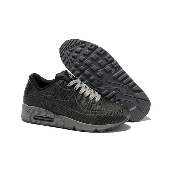 low priced 60753 48c88 Nike Air Max 90 Hyp Prm Men Black Gray Running Shoes Czech