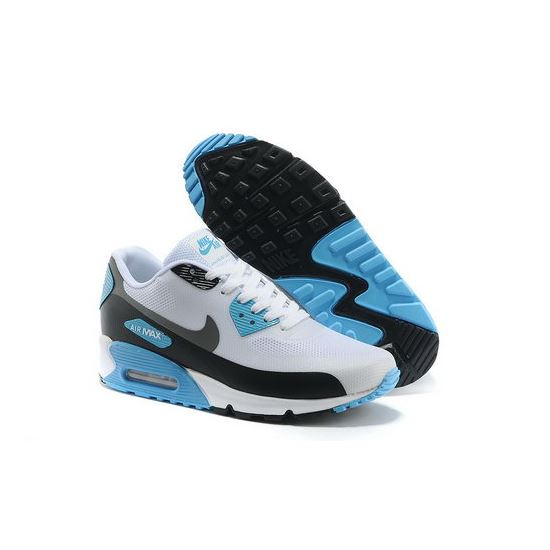first rate a23c3 bd737 Nike Air Max 90 Hyp Prm Men Blue White Running Shoes Best Price