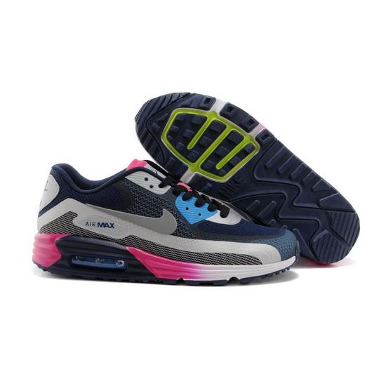 reputable site 6cac6 189e5 Nike Air Max Lunar 90 C3 0 Mens Shoes Dark Blue Rose Red Special Switzerland