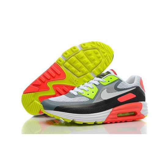 promo code 96efa a59bc Nike Air Max Lunar 90 C3 0 Mens Shoes White Gray Orange Green Promo Code