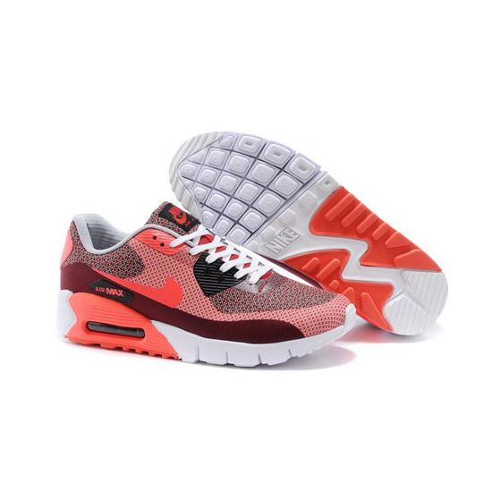 innovative design 86b21 8cfca Nike Air Max 90 Jcrd Mens Shoes Orange Red Black Gray Hot Korea
