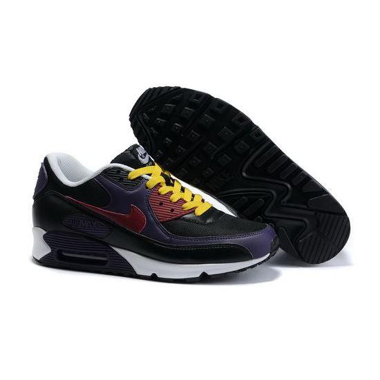 on sale 4fbae eafdd Nike Air Max 90 Mens Black Yellow Blue Coupon, Nike Air Max ...