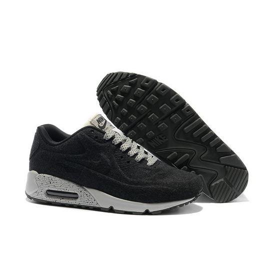 42f98394e3 Nike Air Max 90 Vt Men Black White Running Shoes Outlet Store, Nike ...