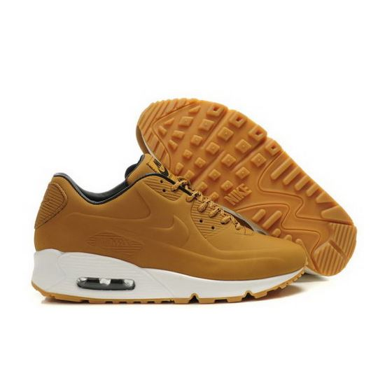 on sale bd415 a672f Nike Air Max 90 Vt Mens Shoes Brown White Korea