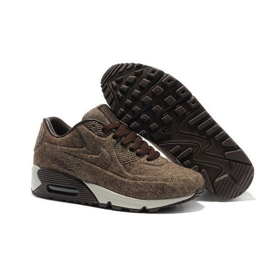 new concept e744a fc2d1 Nike Air Max 90 Vt Unisex Brown White Running Shoes Outlet