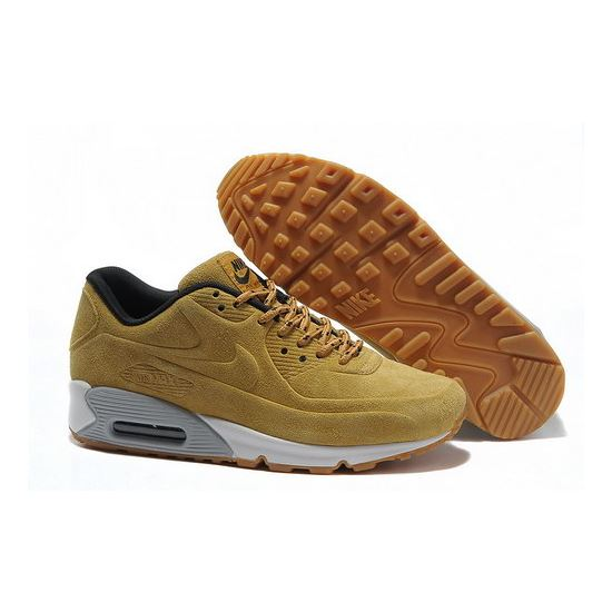 100% authentic 07052 1d480 Nike Air Max 90 Vt Unisex Yellow White Running Shoes Hong Kong