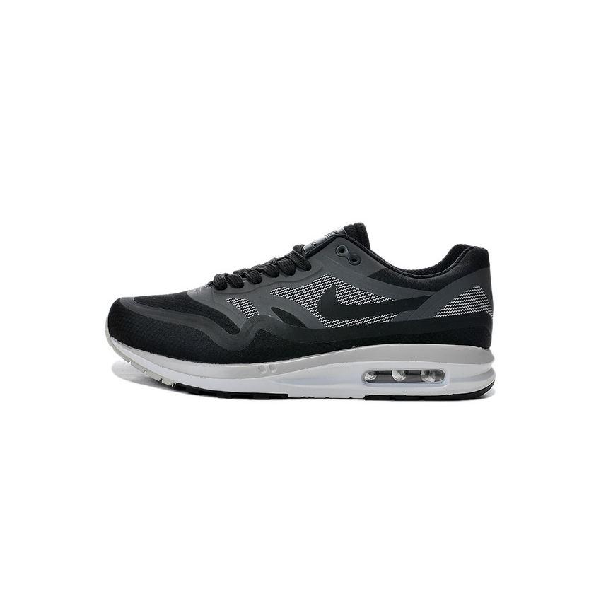 official photos 67b1b 3c9c8 Cheap Outlet Men's Nike Air Max 1 Shoes Black Gray Sale Online, Nike ...
