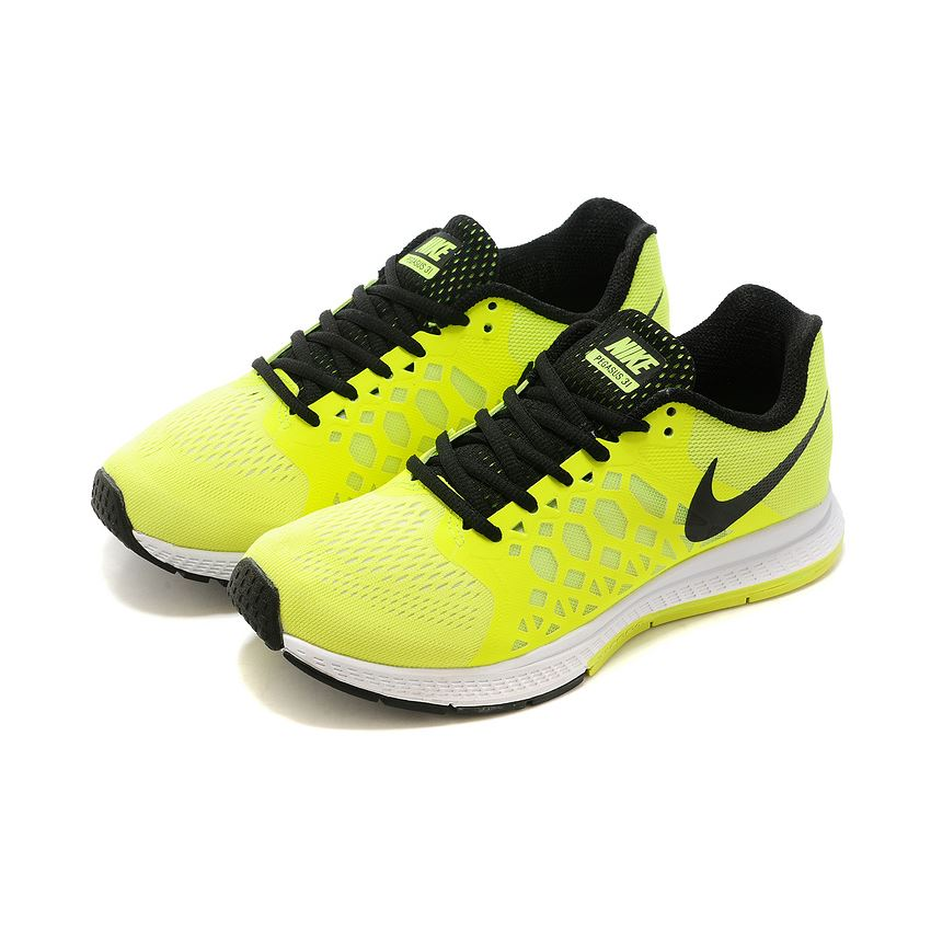 new product 0f4c3 f6acc Women s Nike Air Zoom Pegasus 31 Running Shoes Fluorescence Green Black White  654486-301