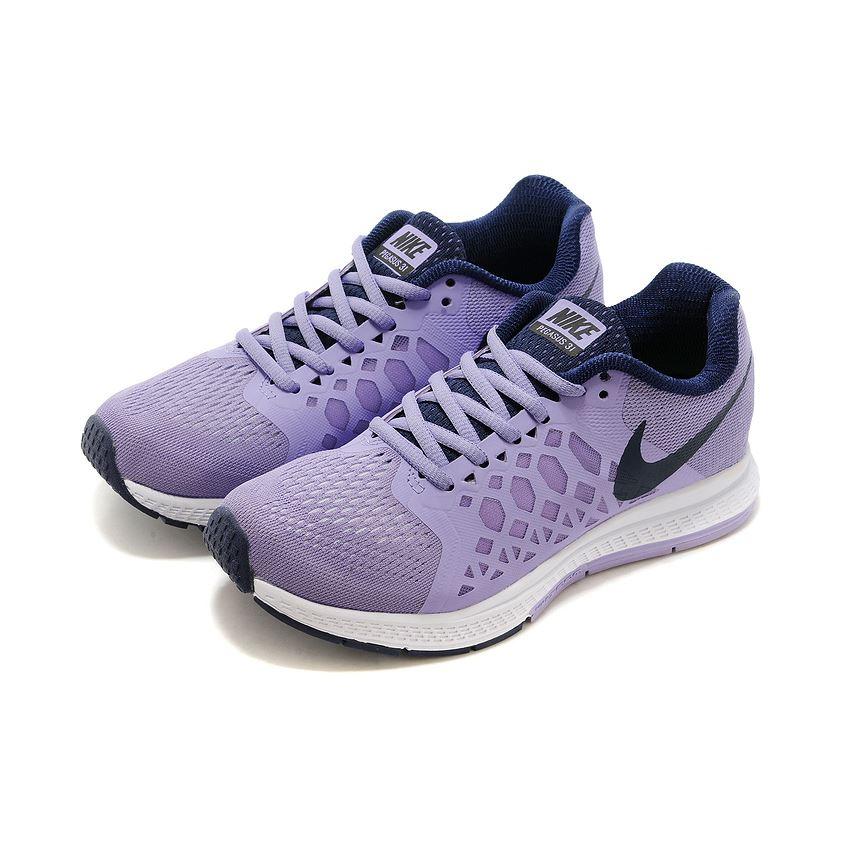 088f4c52ac7e0 Women s Nike Air Zoom Pegasus 31 Running Shoes Powder Purple Black White  654486-501