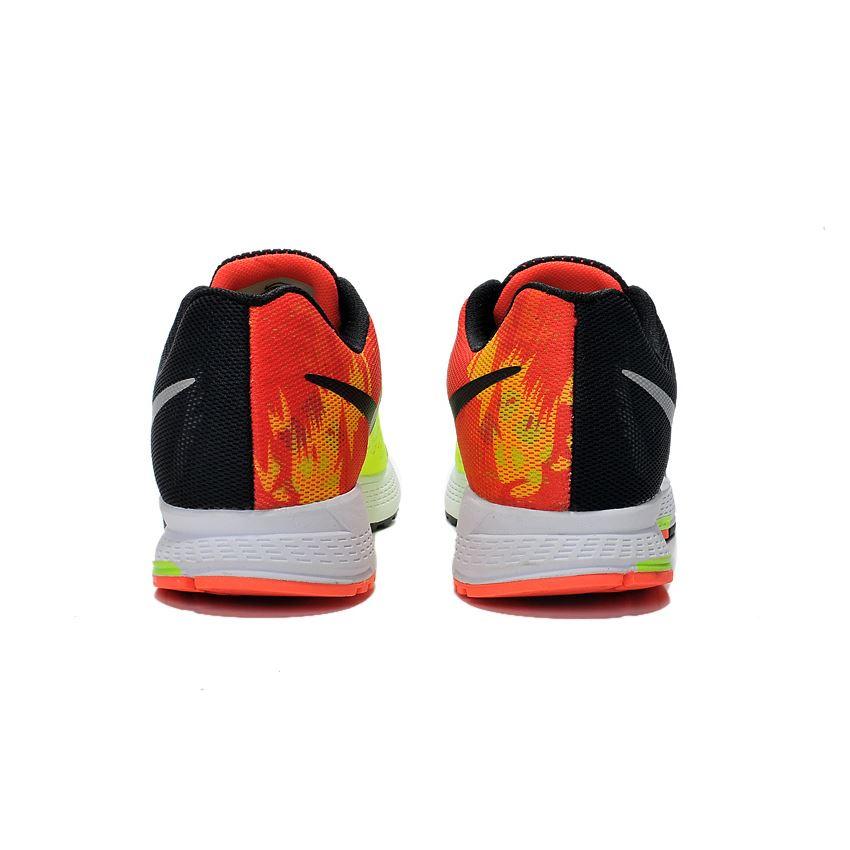 online retailer 0bf92 819b8 Men s Nike Air Zoom Pegasus 31 Running Shoes Black Orange White 652925-012