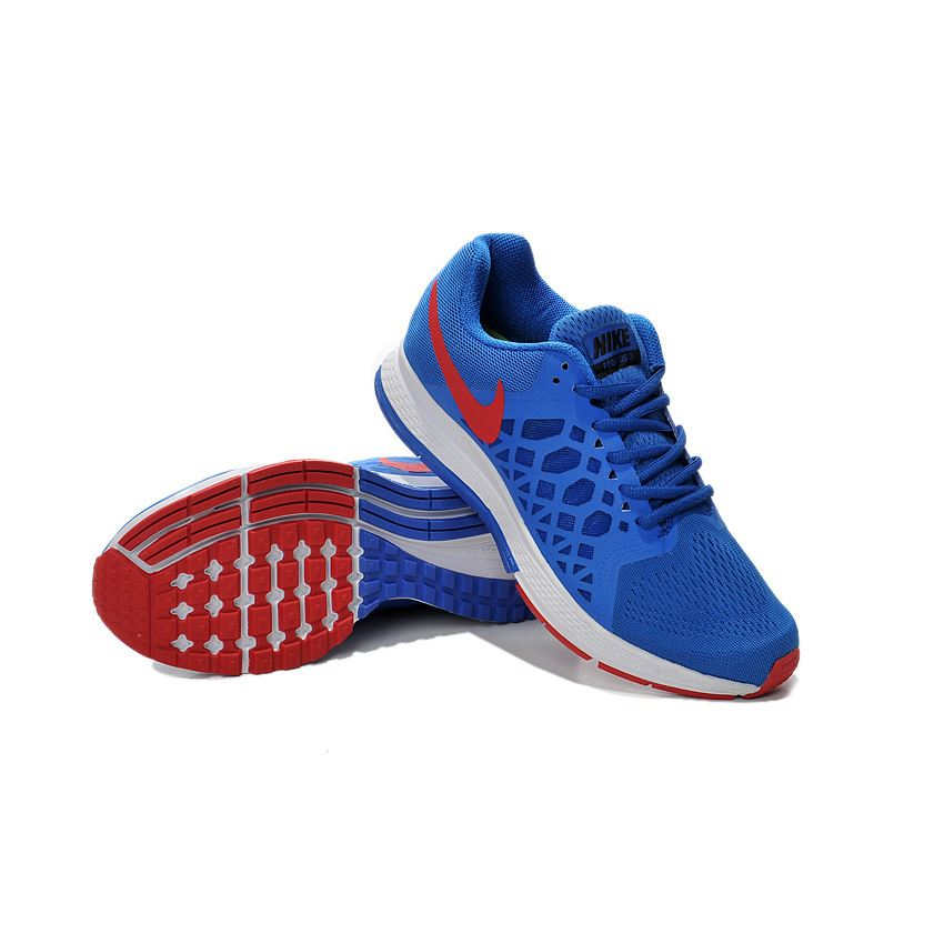 a03cd7fe054c Men s Nike Air Zoom Pegasus 31 Running Shoes Royal Blue Red White 652925-401