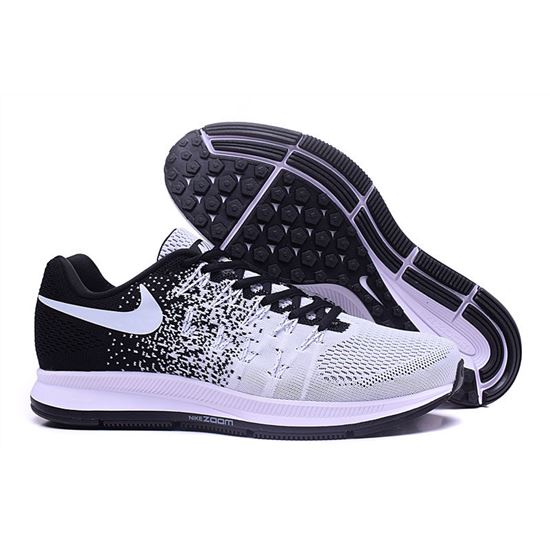 les ventes chaudes 47f5e b29e5 Men's Nike Air Zoom Pegasus 33 Running Shoes Black/White ...