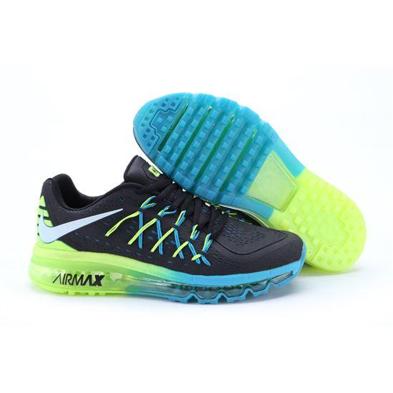 sports shoes 249cf 2e079 Nike Air Max 2015 II Men Black Blue Green, Air Max 98, Nike Air Max 90