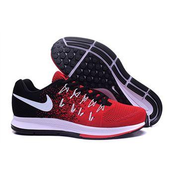 7ae2389c3f2f1 Men s Nike Air Zoom Pegasus 33 Running Shoes Black Crimson White