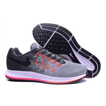 new product 481e1 16a7f Men s Nike Air Zoom Pegasus 33 Running Shoes Dark Grey Light Grey Black