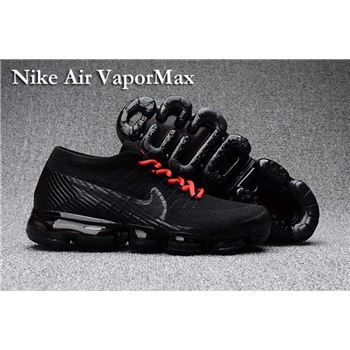 Nike Air VaporMax 2018 Women s Running Shoes Black Red c388855273