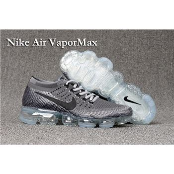 b162feab695 Nike Air VaporMax 2018 Women s Running Shoes Grey Black