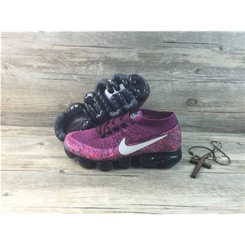 Nike flyknit Air VaporMax 2018 Women's Running Shoes Purple Black