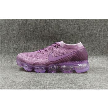 Nike flyknit Air VaporMax 2018 Women's Running Shoes Purple