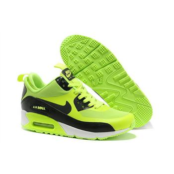Nike Air Max 90 Sneakerboot Ns Women Black Green Running Sports Shoes Online Shop