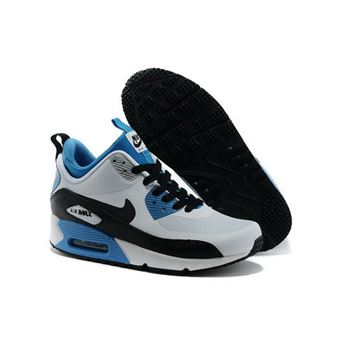 Nike Air Max 90 Sneakerboot Ns Women White Black Running Sports Shoes Review