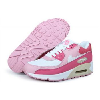 Air Max 90 Womens New Shoes Pink Low Cost