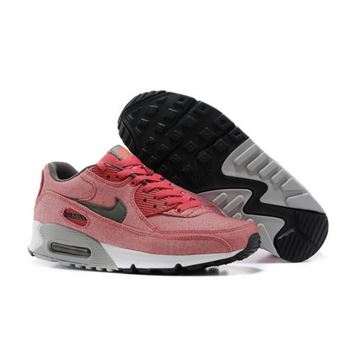 competitive price ad6e5 5f369 Nike Air Max 90 Womens Shoes Light Peach Red Gray New Review