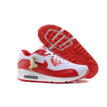 best service a636f e84a4 Nikeid Air Max 90 2014 World Cup National Team Womens Shoes England White  Red Denmark