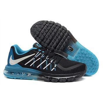 meet 44682 b44c2 Air Max 2015 Men Nike Shoes Black Blue