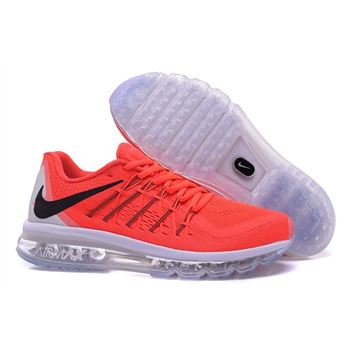Air Max 2015 Nike Men Running Shoes Red White