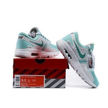 quality design 9aff1 967b5 Women Nike Air Max Zero Qs Mint Green White