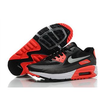 new concept df083 7ae7d Nike Air Max Lunar 90 C3 0 Mens Shoes All Black Silver Orange Uk