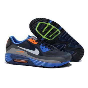 1ebb8fd598a7 Nike Air Max Lunar 90 Waterproof Wr Mens Shoes Black Orange Blue New Hot  Ireland