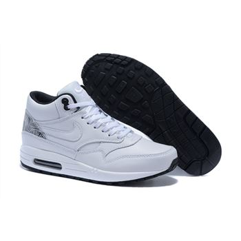 Sale Cheap Women's Nike Air Max 1 Mid FB Boots White 685192-100 Online Store