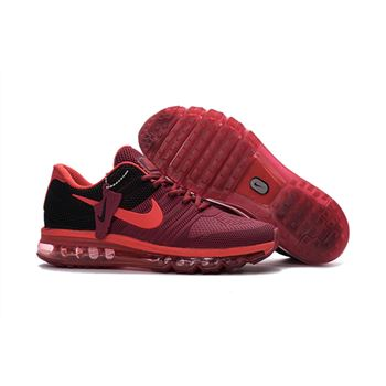 new style f689e 66618 Nike Air Max 2017 KPU Mens Running Shoes Burgundy Black
