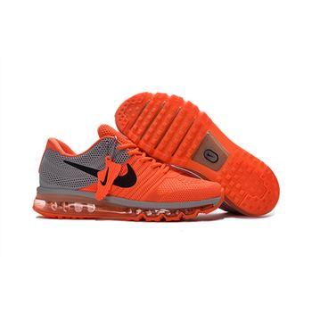 0e4ca509e3 Nike Air Max 2017 KPU Mens Running Shoes Orange Grey