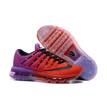 Nike Air Max 2016 807237 019 Red Purple Black For Womens Trainers b3af79afd