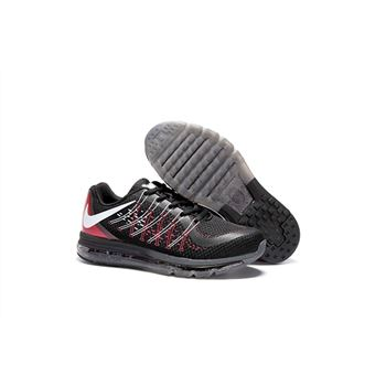Nike Air Max 2017 Mens Running Shoes Black Red White